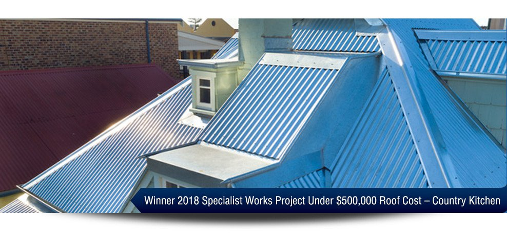 2018 Winner - Specialist Works Project