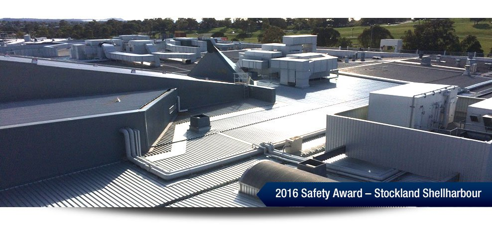 2016 Safety Award - Stockland Shellharbour